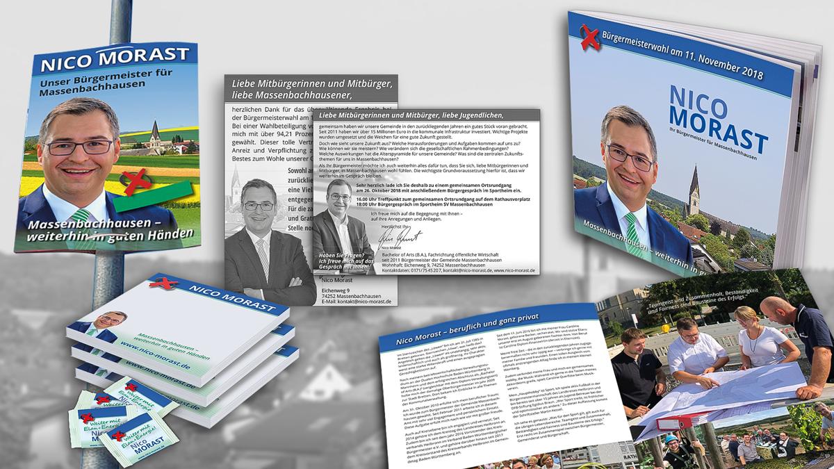 Erfolgreicher Wahlkampf in Massenbachhausen (Heilbronn)