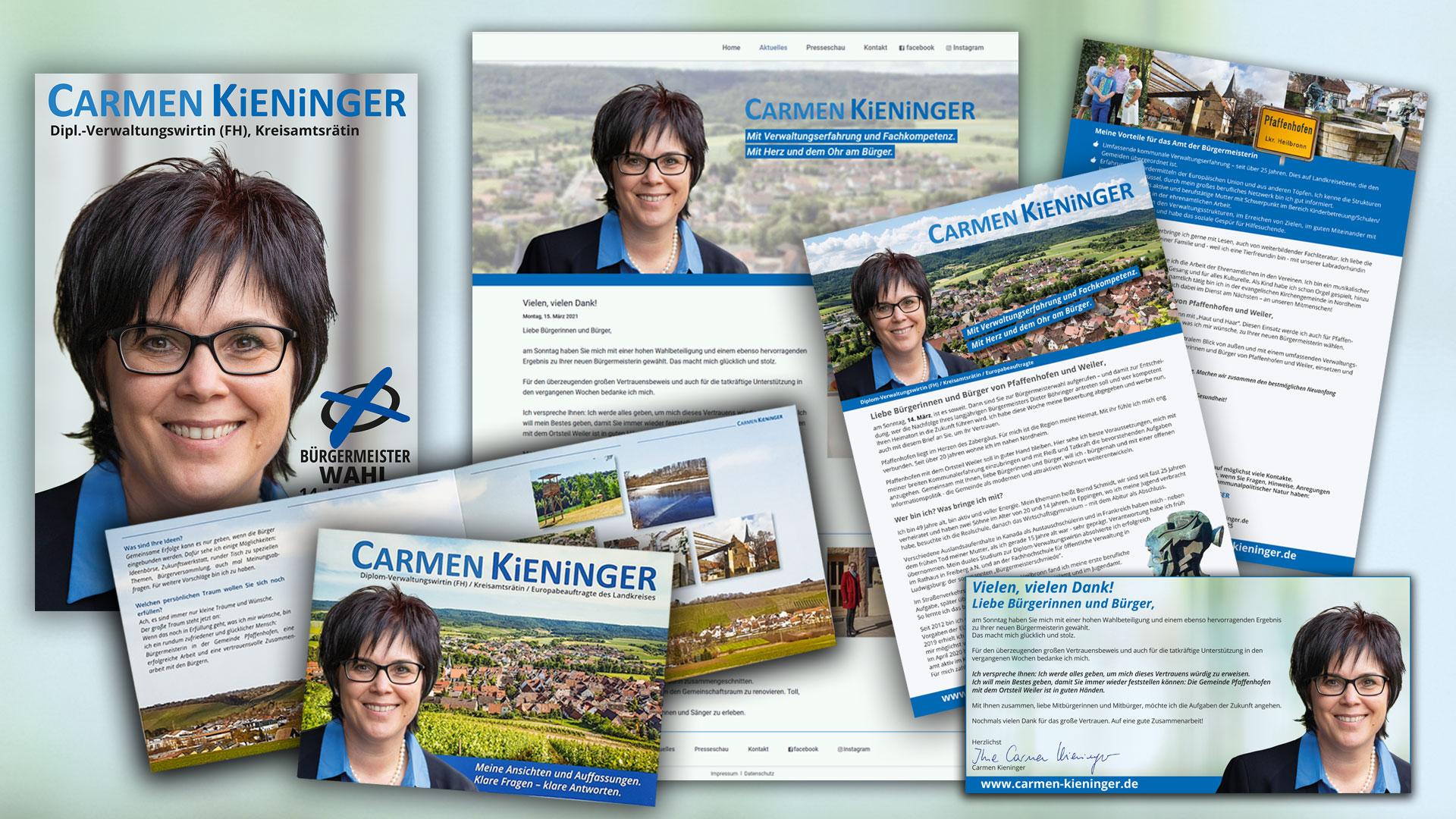 Carmen Kieninger gewinnt Bürgermeisterwahl in Pfaffenhofen