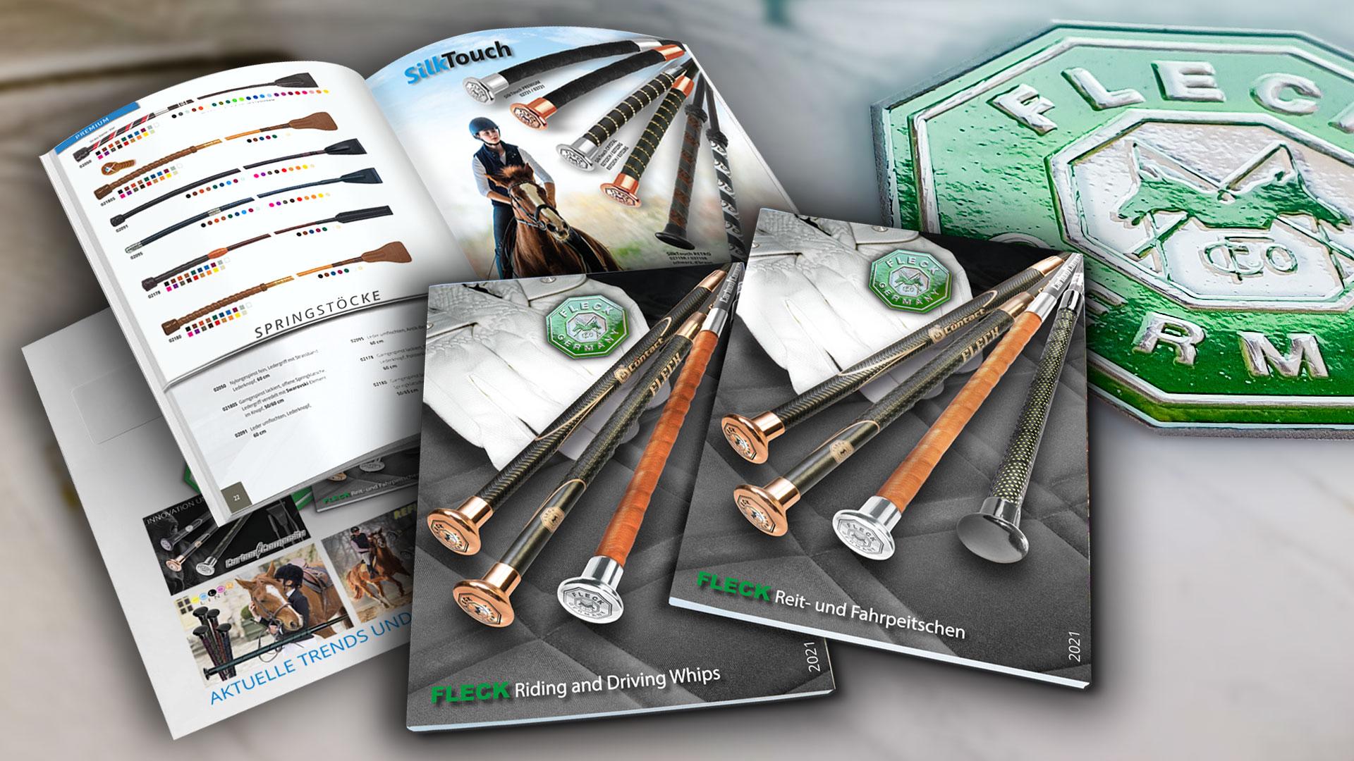 FLECK Reit- und Fahrpeitschen B2B Katalog